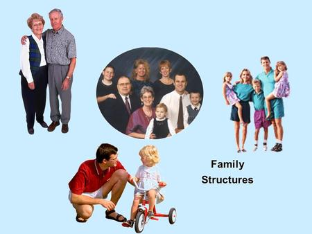 Family Structures. 1 st Generation 2nd Generation Nuclear Family Parent 1 Parent 2 Child(ren) 2 Generations.