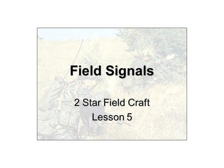 2 Star Field Craft Lesson 5