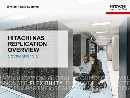 Hitachi NAS replication overview