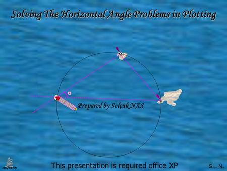 S elçuk N as SELÇUK NAS Selçuk Nasα Solving The Horizontal Angle Problemsin Plotting Solving The Horizontal Angle Problems in Plotting This presentation.