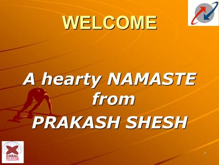 1 WELCOME A hearty NAMASTE from PRAKASH SHESH. 2 Provision of Free Voice and Data EPABX A Presentation By Bharat Sanchar Nigam Limited.
