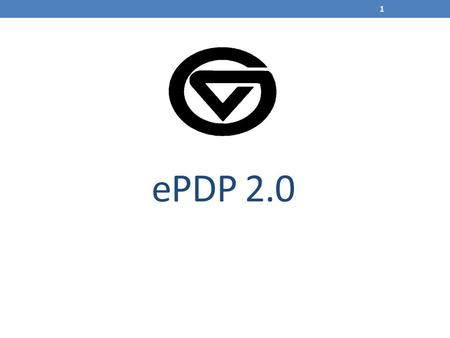 EPDP 2.0 1. 2 3 ePDP 2.0 Agenda Annual Plan Job responsibilities Goals Competencies Professional Development Plan Lets see it! 4.