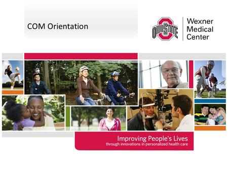 COM Orientation The template can be used to create presentations for community, civic, advocacy and government relations groups. It is also appropriate.