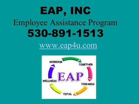 EAP, INC Employee Assistance Program