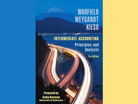 Appendix H-1. Appendix H-2 APPENDIX G ACCOUNTING FOR DERIVATIVE INSTRUMENTS INTERMEDIATE ACCOUNTING Principles and Analysis 2nd Edition Warfield Wyegandt.