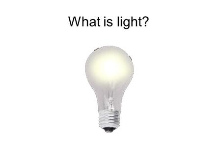 What is light?. Why light is important I2I2 Seeing the messengers? Abu Ali Hasan Ibn Al-Haitham, ~1000 AD.