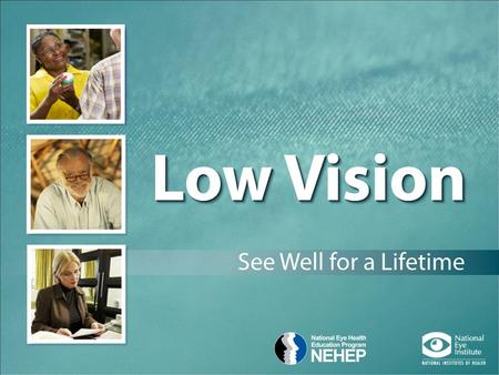 Is Vision Loss Part of Getting Older?  Vision can change as we age.  Vision loss and blindness are not a normal part of aging.
