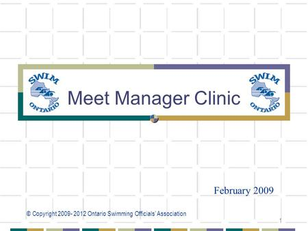 05/04/2017 Meet Manager Clinic February 2009.