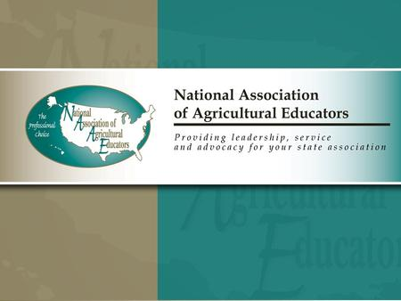 NAAE Membership Procedures for the 2012-2013 Membership Year www.naae.org.