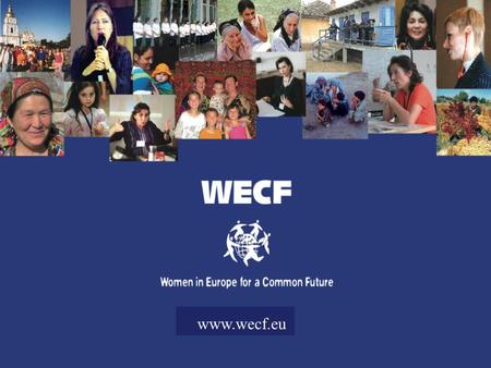 Www.wecf.eu. Promoting Public Participation in the Run-up to Rio +20 – Women's Major Group Promoting Public Participation in the Run-up to Rio +20 – Women's.