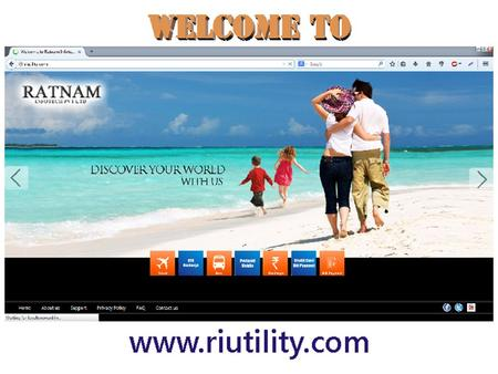 OUR SERVICES Click on any service, given at Home page Now Login with your RATNAM ID and Password Usage Process.