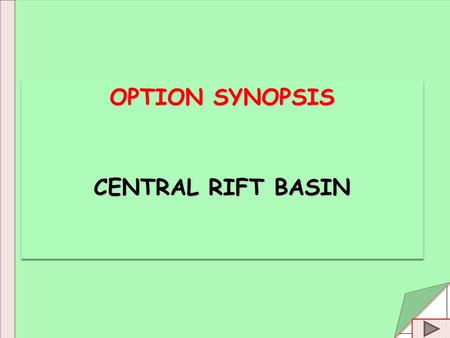 OPTION SYNOPSIS CENTRAL RIFT BASIN OPTION SYNOPSIS CENTRAL RIFT BASIN.