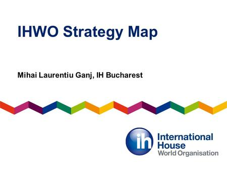 IHWO Strategy Map Mihai Laurentiu Ganj, IH Bucharest.