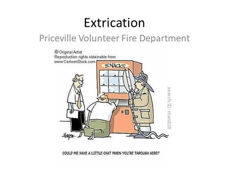 Extrication Priceville Volunteer Fire Department.
