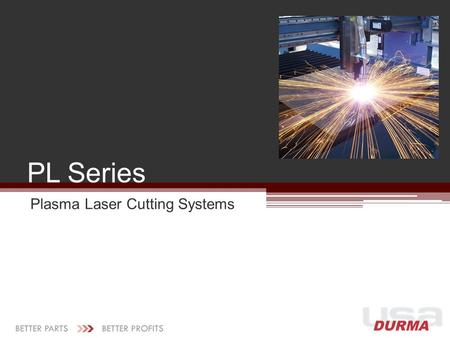 Plasma Laser Cutting Systems