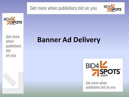 Banner Ad Delivery. Components of a Website Ads Content.
