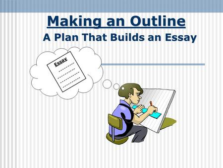 essay map in introduction