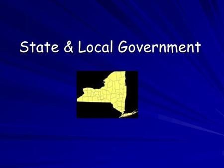 State & Local Government Problems with state constitutions ….unnecessary details, burdensome restrictions, repetition, outdated….. length – most are.