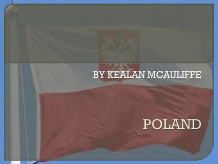 BY KEALAN MCAULIFFE  Overall population-38,415,284  Capital city-warsaw.population-1,720,394  Currency-the zloty  Krakow-756183  46million.