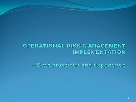 Risk The chance of something happening that will have an impact on objectives. A risk is often specified in terms of an event or circumstance and the consequences.