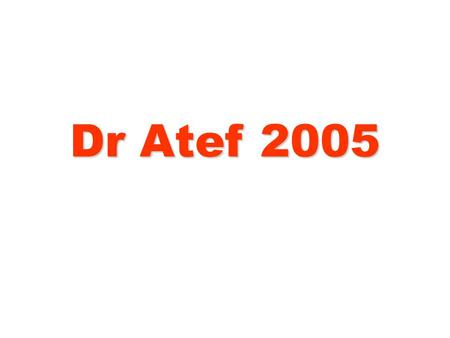 Dr Atef 2005. Hebrews 1:14 Are not all angels ministering spirits sent to serve those who will inherit salvation?