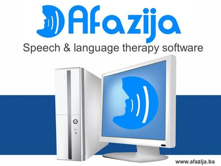 Www.afazija.ba Speech & language therapy software.