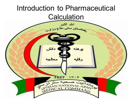 Introduction to Pharmaceutical Calculation. Units of measurement and metric conversion Measurement is the process of obtaining quantitative information.