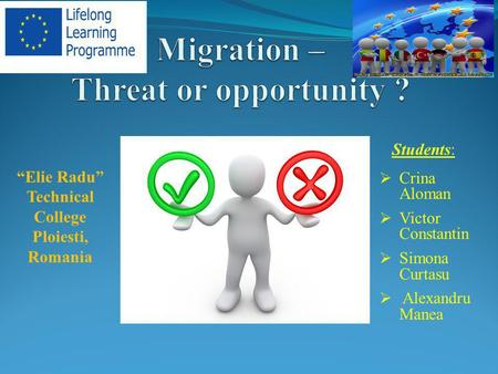 Migration – Threat or opportunity ?