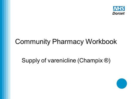 Community Pharmacy Workbook