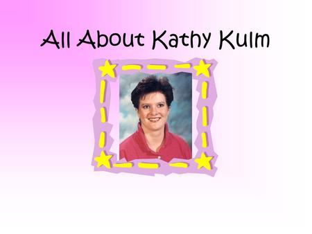 All About Kathy Kulm Related School My first teaching position was at Roncalli Junior High School. I presently teaching at the Roncalli Middle School.
