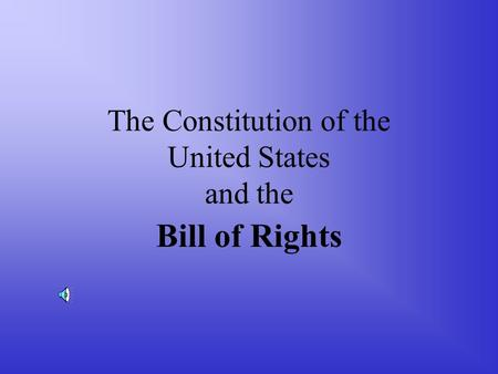 """an analysis of the amandments of the united states constitutions bill of rights Congress might try to limit the convention to one amendment or one  the only  constitutional convention in us history, in 1787, went far beyond its mandate   out wholesale changes to our constitution and bill of rights""""c."""