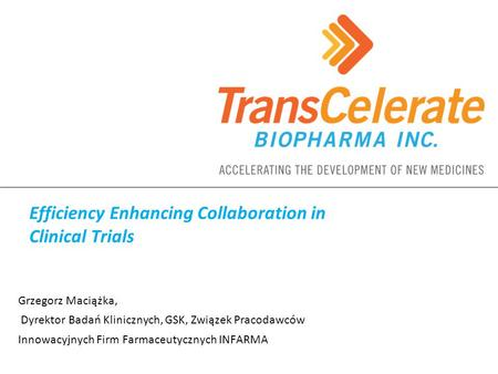 Efficiency Enhancing Collaboration in Clinical Trials
