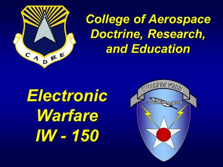 College of Aerospace Doctrine, Research, and Education