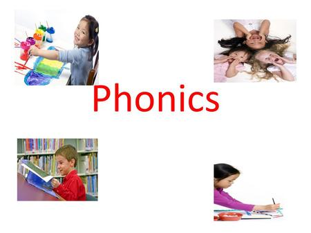 Phonics. What is phonics? Phonics is the back-to-basics method of reading that teaches children to recognise the different sounds letters make. i.e.)