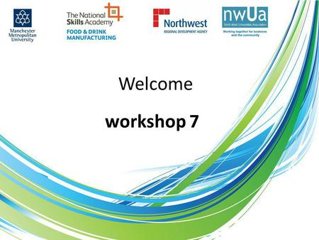 Welcome workshop 7. SMEs don't have time to be involved in curriculum development; true or false?