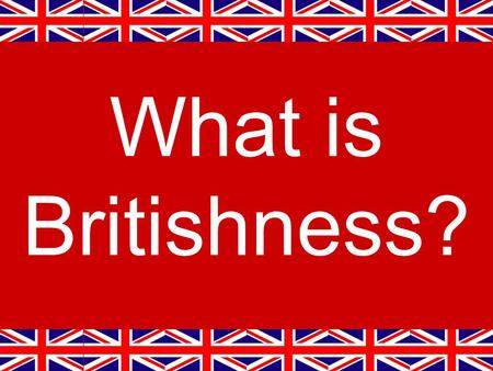 What is Britishness?. Union Jack Girl © Still Pictures/Duncan Walker.