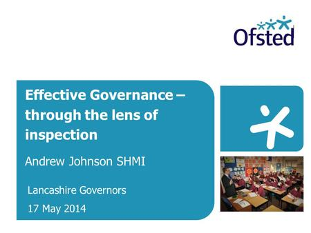 Effective Governance – through the lens of inspection