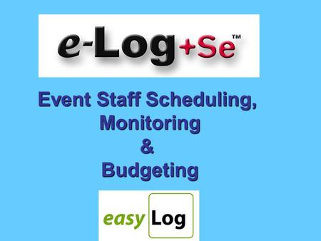 Event Staff Scheduling, Monitoring&Budgeting is a flexible solution to the problems of scheduling, budgeting and monitoring staff coverage for single.