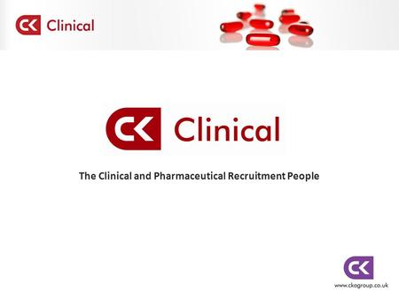 The Clinical and Pharmaceutical Recruitment People.