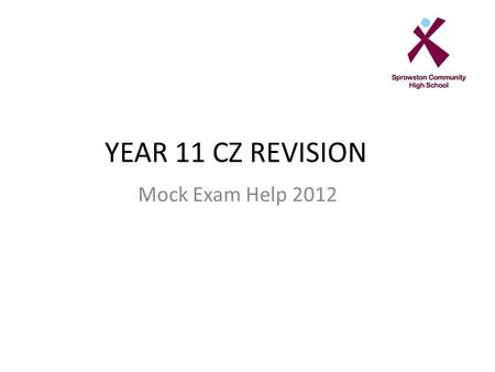 YEAR 11 CZ REVISION Mock Exam Help 2012. 1. What is an employment tribunal?