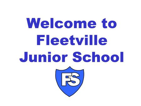 Welcome to Fleetville Junior School. Timings of the school day 8:45amArrive and meet teachers (first day line up with teacher) 8:55am Registration 10:15am-10.30am.