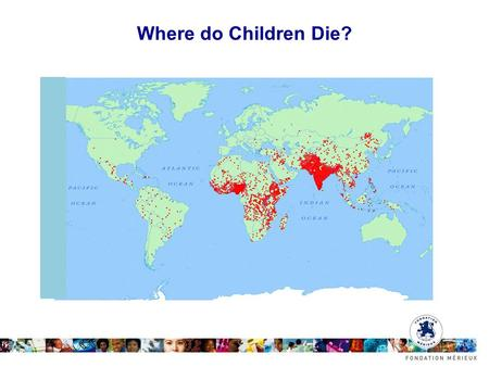 Where do Children Die?. New Horizons: 3 'H's How can research be reshaped to work on the world's most difficult and important problems? (relevance) How.
