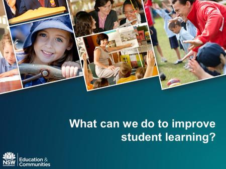 What can we do to improve student learning?. Introduction What do teachers and school leaders do that has the greatest impact on student performance?
