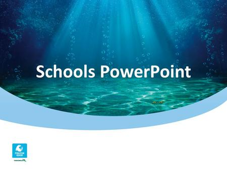 Schools PowerPoint. Beneath the sea. The ocean covers 71% of the Earth's surface and represents our planet's largest habitat, supporting nearly 50% of.