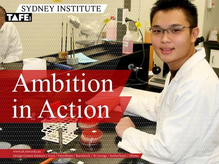 Ambition in Action. Ambition in Action www.sit.nsw.edu.au Hot Topics Conversation Chemical Safety 25 May 2011.