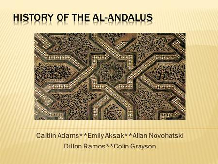 History of the Al-Andalus
