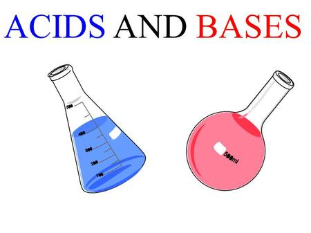ACIDS AND BASES. HA + H 2 O base acid H 3 O + + A - Con. baseCon. acid B + H 2 O base acid BH + + OH - Con. base Con. acid.