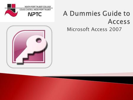 Microsoft Access 2007.  Access is a database software program.  Databases are basically large lists of information of a certain sort for example  Telephone.