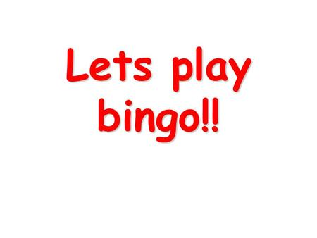 Lets play bingo!!. Calculate: MEAN 4 7 5 8 6 Calculate: MEDIAN 9 4 6 1 5.