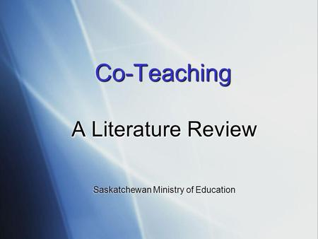 literature review on gospel minister